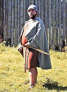 Iné oblečenie - Mužský odev z doby bronzovej, rekonštrukcia nálezu Trindhoj - 12309557_