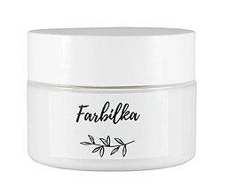 Farby-laky - Farbilka 100ml - snehovobiela - 12309385_