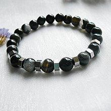 Šperky - Náramok ónyx - 12314693_