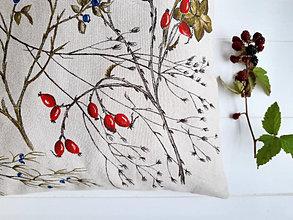 Úžitkový textil - Vankúš - jeseň - 12312859_