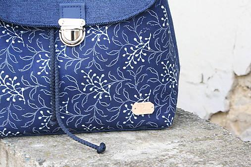 Modrotlačový batoh Martin modrý 4