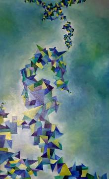 Obrazy - Metamorfózy polygónov II. - 12313308_