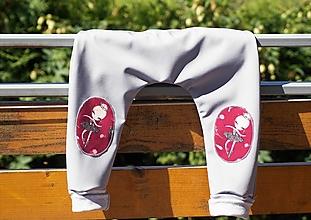 Detské oblečenie - Softshellky s baletkami - 12317252_