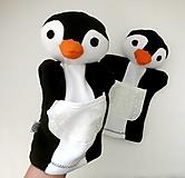 Hračky - Maňuška tučniak - na objednávku - 12317356_