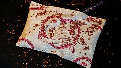 Úžitkový textil - Vankúšik na unavené oči - 12314337_
