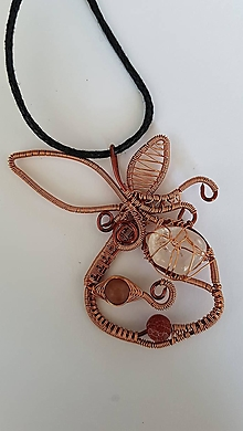 Iné šperky - Medené jabĺčko - 12318397_