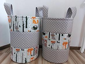 Košíky - Kôš na hračky ...zvieratka - 12318402_