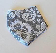 Rúška - Bavlnené rúško - 2 vrstvy Kvety - 12321628_