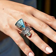 Prstene - Strieborný prsteň - Výkričník - 12321509_