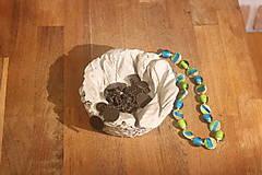 Nádoby - Šperkovnica z betónu - 12320802_