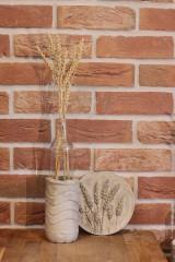 Nádoby - Uletené betónové vázičky - 12320908_