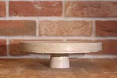 Pomôcky - Betónový stojan na tortu - 12321011_