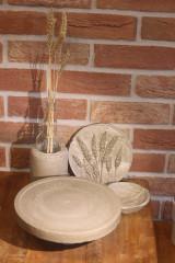 Pomôcky - Betónový stojan na tortu - 12321028_