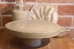 Pomôcky - Betónový stojan na tortu - 12321038_