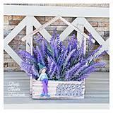 Dekorácie - Levandulovy domcek s levandulkom dekoracia - 12319407_
