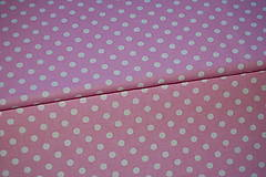 Textil - metráž ružová - 12321634_