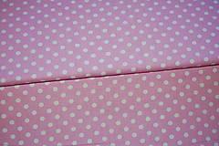 Textil - metráž ružová - 12321637_