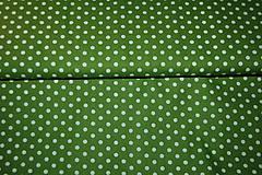 Textil - metráž zelená - 12321707_