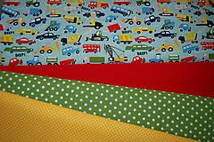 Textil - metráž zelená - 12321708_