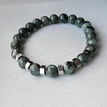 Šperky - Náramok larvikit - 12323207_