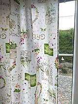 Úžitkový textil - Závesy, vankúše, podsedáky, obrusy - 12323916_
