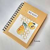 Papiernictvo - Receptár Zlatý s ovocím A5 - 12324497_