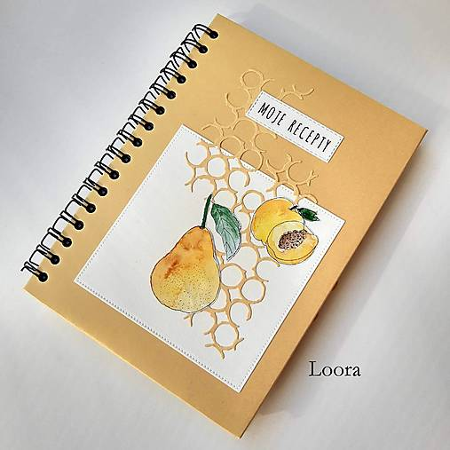 Receptár Zlatý s ovocím A5