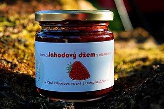 Potraviny - Jahodový džem s rebarborou a karamelom - 12323092_