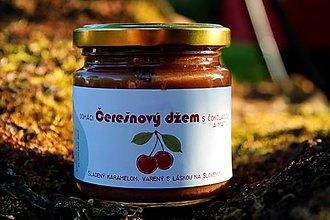 Potraviny - Čerešňový džem s čokoládou a mätou sladený karamelom - 12323228_