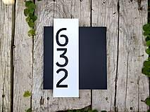 Tabuľky - Popisné číslo: Urban (3 čísla) - 12323677_
