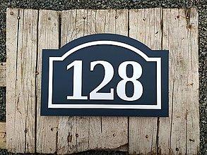 Tabuľky - Popisné číslo: Vintage - 12325107_