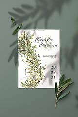 Papiernictvo - svadobné oznámenie 041 - 12323488_