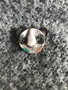 Odznaky/Brošne - Panda - brošňa - 12323530_