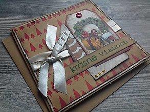 Papiernictvo - ...pohľadnica vianočná... - 12322512_