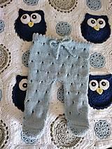 Detské oblečenie - Bledomodré dupačky - 12323968_