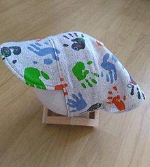 Detské čiapky - Šatky so šiltom 2 - 12323094_