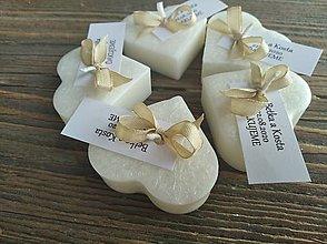 Darčeky pre svadobčanov - Sviečky pre hostí - 12324795_