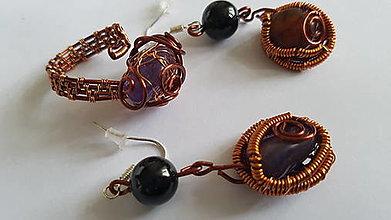 Sady šperkov - Medené mámenie - 12326225_