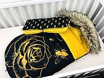 Textil - Zimný fusák pre bábätko - 12326580_