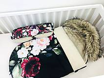 Textil - Zimný fusák pre bábätko - 12326583_