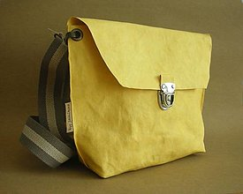"Kabelky - Passport bag ""Yellow"" - 12328037_"