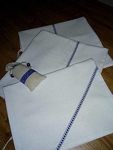 Úžitkový textil - vrecko na chlieb - 12328462_
