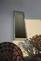 Zrkadlá - Zrkadlo zo starého okna - 12328314_