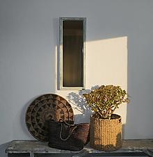 Zrkadlá - Zrkadlo zo starého okna - 12328313_