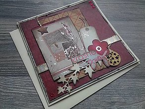 Papiernictvo - ...pohľadnica vianočná... - 12325936_