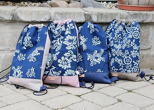 modrotlačový batoh Lesana 21