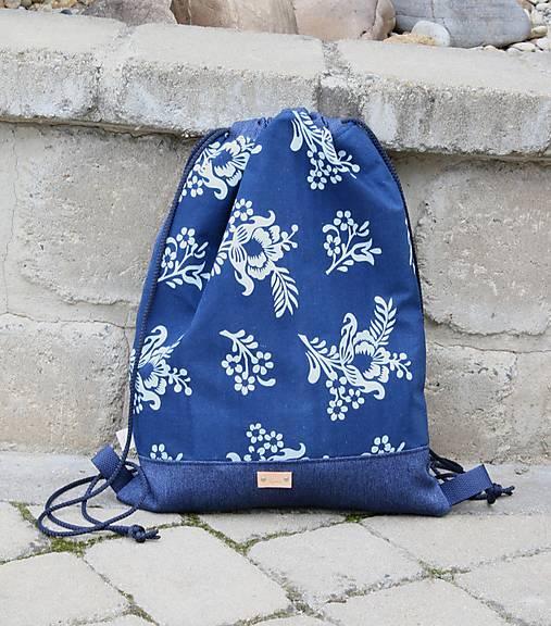 modrotlačový batoh Lesana 22