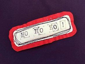 Magnetky - HO HO HÓ!!!  Vianočná magnetka.. - 12330336_