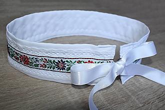 Opasky - dámsky folklórny opasok aj svadobný - 12330541_