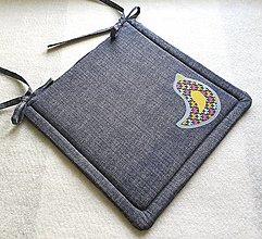 Textil - Podsedák na školskú stoličku  č.9 (Vtáčik č.2) - 12329925_